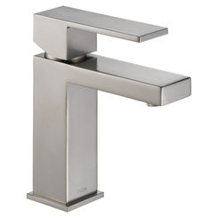Click here to see Delta 567LF-SSPP Delta 567LF-SSPP Modern Single-Handle Project-Pack Lavatory Faucet, Stainless