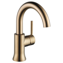 Click here to see Delta 559HA-CZ-DST Delta 559HA-CZ-DST Trinsic Champagne Bronze High Arc Bathroom Faucet