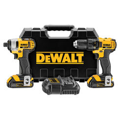 Click here to see Dewalt DCK280C2 Dewalt DCK280C2 Combo Kit, 9 Pieces, 20 V Li-Ion, 1.5 Ah