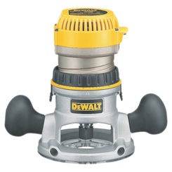 Click here to see Dewalt DW616 Dewalt DW616 Fixed Base Router, 120 V, 11 A, 1-3/4 hp, 24500 rpm