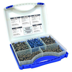 Click here to see Kreg SK03 Kreg SK03 Assortment Self Tapping Pocket Hole Screw Kit, 675 Pieces, NO 6, 7, 8