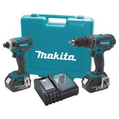 Click here to see Makita XT211MB MAKITA XT211MB 18V LXT LITHIUM-ION CORDLESS 2 PC. COMBO KIT