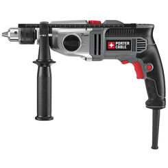 Click here to see Porter-Cable PC70THD Porter-Cable PC70THD Corded Hammer Drill Kit, 120 V, 7 A, 1/2 in Keyless Chuck