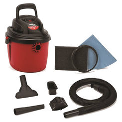 Click here to see Shop-Vac 2036000 Shop-Vac 5890200 Wet/Dry Corded Vacuum, 120 VAC, 8 A, 2.5 hp, 2.5 gal Tank, 130 cfm