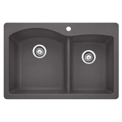 Click here to see Blanco 441465 Blanco 441465 Diamond Cinder - double-bowl sink 33