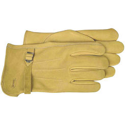 Click here to see Boss 6023L Boss 6023L Driver Gloves, Large, Premium Grain Leather, Gold, Unlined Lining