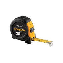 Click here to see Komelon 5425 Komelon Gripper Measure Tape, 25ft x 1\