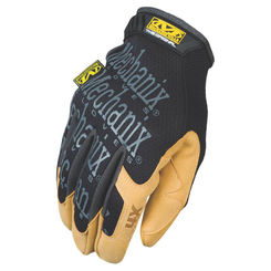 Click here to see Mechanix MG4X-75-008 MECHANIX MG4X-75 Mechanic Gloves, Size 8, Small, Material4X Synthetic Leather, Brown/Black