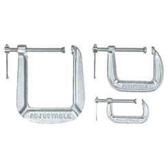 Click here to see Pony Tools 1491 Pony Tools 1491 Adjustable C-Clamp Set, Steel