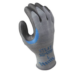 Click here to see Showa Atlas 330L-09.RT Atlas Regrip 330L-09.RT Ergonomic Work Gloves, Large, Gray