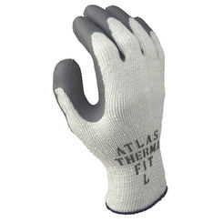 Click here to see Showa Atlas 451XL-10.RT Atlas ThermaFit 451XL-10.RT Ergonomic Work Gloves, X-Large, Gray