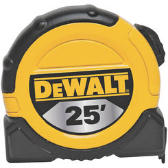 Click here to see Stanley DWHT33373 DeWalt DWHT33373 Measuring Tape, 25ft x 1-1/8\