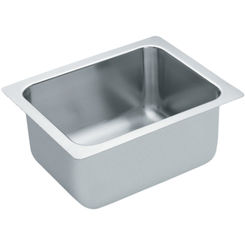 Click here to see Moen 22124 Moen Commercial 22124 Stainless Steel Single Bowl Sink