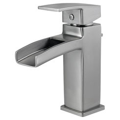 Click here to see Pfister LG42-DF0K Pfister LG42-DF0K Brushed Nickel Kenzo Single Control Lavatory Faucet