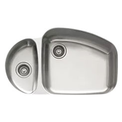Click here to see Franke VNX160LH Franke VNX160LH Double Bowl Undermount Stainless Undermount Sink - Stainless