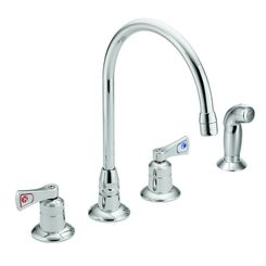 Click here to see Moen 8242 Moen Commercial 8242 Two Handle Kitchen Faucet