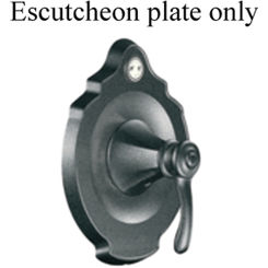 Click here to see Moen 133437PW Moen 133437PW Vestige Moentrol Escutcheon - Pewter