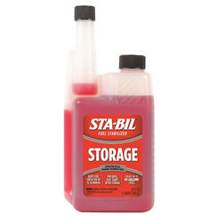 Click here to see Sta-Bil 22214 Sta-Bil 22214 Performance Improver Fuel Stabilizer, 32 oz, Bottle, Red, Liquid
