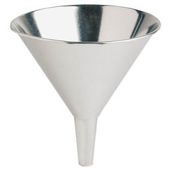 Click here to see Plews 75-012 Plews 75-012 Utility Funnel, 8 in Dia x 9 in H, 56 oz, Steel