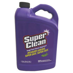 Click here to see Super Clean 101723 Super Clean 101723 Industrial Strength Cleaner/Degreaser, 1 gal, Jug, Purple, Clear Liquid