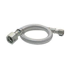 Click here to see Plumb Pak PP23817 Plumb Pak PP23817 EZ Faucet Supply Tube, 1/2 in, FIP, 16 in L, Stainless Steel