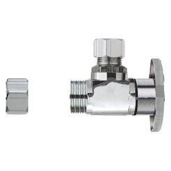 Click here to see Plumb Pak PP32-1PCLF Plumb Pak PP32-1PCLF 1/4 Turn Transitional Angle Supply Line Valve, 1/2 x 3/8 in, Nominal CPVC X Tube, CPVC Body