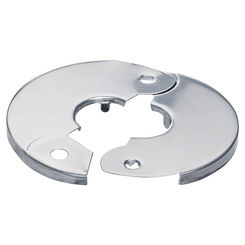 Click here to see Plumb Pak PP857-1 Plumb Pak PP857-1 Hinged Floor and Ceiling Plate, 1/2 in, Chrome Plated