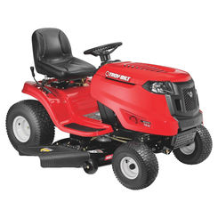 Click here to see MTD 13A879KS066 Troy-Bilt 13A879KS066 Hydrostatic Lawn Tractor, 42 in W, 20 hp, 547 cc OHV, Single Cylinder Engine, 2 gal Gas