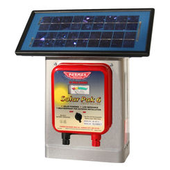Click here to see Parker McCrory DF-SP-LI Parmak Solar Pak 6 DF-SP-LI Low Impedance Electric Fence Charger, Solar/Battery Powered