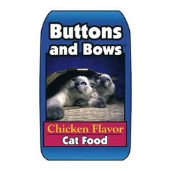 Click here to see Sunshine Mills 10019/70155 Buttons And Bows 10019/70155 Cat Food, 40 lb, Bag, Dry Chicken