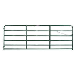 Click here to see Tarter 2GG10 Tarter Gate 2GG10 Extra Heavy Duty Safety Gate, 2 in, 52 in W X 10 ft H, Steel