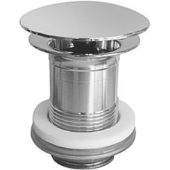 Click here to see Duravit 50381092 Duravit 0050381092 Slotted Waste Fitting for Bathroom Sink in Chrome