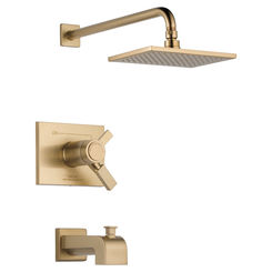 Click here to see Delta T17T453-CZ-WE Delta T17T453-CZ-WE Vero Champagne Bronze TempAssure Tub/Shower Trim
