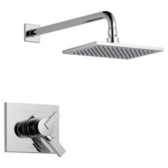Click here to see Delta T17253-WE Delta T17253-WE Vero Chrome H2OKinetic Monitor Shower Trim Only