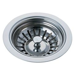 Click here to see Brizo 69050-PC Brizo 69050-PC Chrome Sink Flange and Strainer
