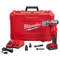 Click here to see Milwaukee 2677-20  Milwaukee 2677-20 M18 FORCE LOGIC 6T Knockout Tool Kit