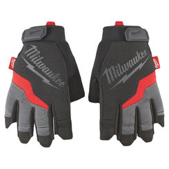 Click here to see Milwaukee 48-22-8743 Milwaukee 48-22-8743 Fingerless Work Gloves, Extra Large