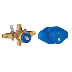 Click here to see Grohe 35015001 Grohe 35015001 GrohSafe Pressure Balance Rough-In Valve