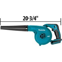 Click here to see Makita DUB182Z Makita DUB182Z 18V LXT Lithium-Ion Cordless Blower, Tool Only