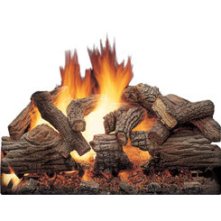 Click here to see MHSC VWF30MO Majestic VWF30MO Matchlight Vented Outdoor Gas Log Set