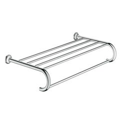 Click here to see Grohe 40660001 Grohe 40660001 Essentials Authentic Multi-Towel Rack, Starlight Chrome