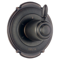 Click here to see Delta T11855-RB Delta T11855-RB Victorian 3-Setting 2-Port Diverter Trim - Venetian Bronze