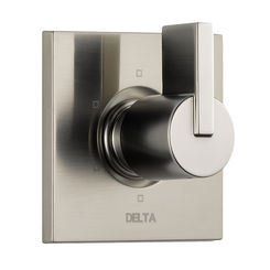 Click here to see Delta T11953-SS Delta T11953-SS Stainless Vero 6 Setting Diverter Trim