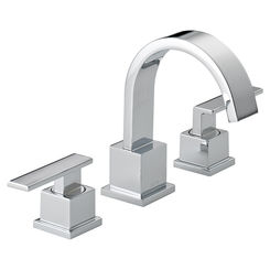 Click here to see Delta 3553LF Delta 3553LF Vero Widespread Two Handle Bathroom Faucet in Chrome
