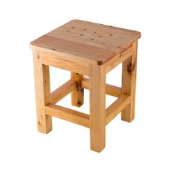Click here to see Alfi AB4407 ALFI AB4407 10-Inch x 10-Inch Wooden Square Bench/Stool