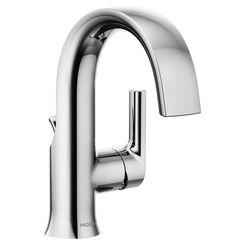 Click here to see Moen S6910 Moen S6910 Doux Single-Handle High Arc Lavatory Faucet, Chrome