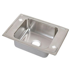 Click here to see Elkay PSDKR25172LM Elkay PSDKR25172LM Pacemaker Stainless Steel Single Bowl Sink