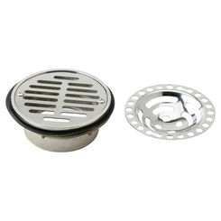 Click here to see Elkay LK43 Elkay LK43 Stainless Steel Dome with Flat Grid Strainer