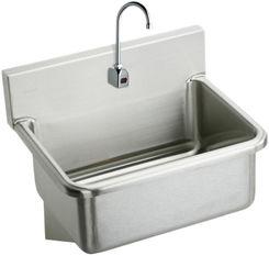 Click here to see Elkay EWS3120SBC Elkay EWS3120SBC  Surgeon's Sink and Sensor Faucet