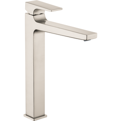 Click here to see Hansgrohe 32513821 Hansgrohe 32513821 Metropol 260 Single-Hole Faucet with Lever Handle, Brushed Nickel